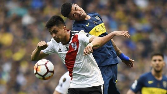Boca y River se miden en la final de la Copa Libertadores.