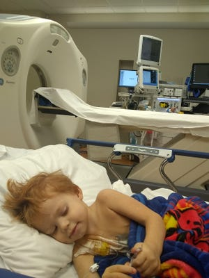 Leo Murphy, 3, is battling stage four stage 4 neuroblastoma cancer on his adrenal gland.