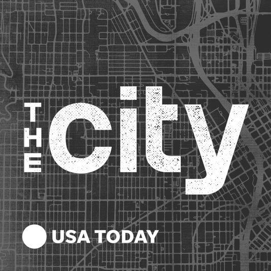 The City Podcast Logo