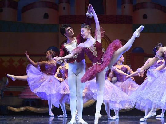 """The Waltz of the Flowers"" in a 2016 performance of ""The Nutcracker."""