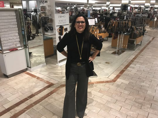 Vanessa LeFebvre visits Lord & Taylor Victor