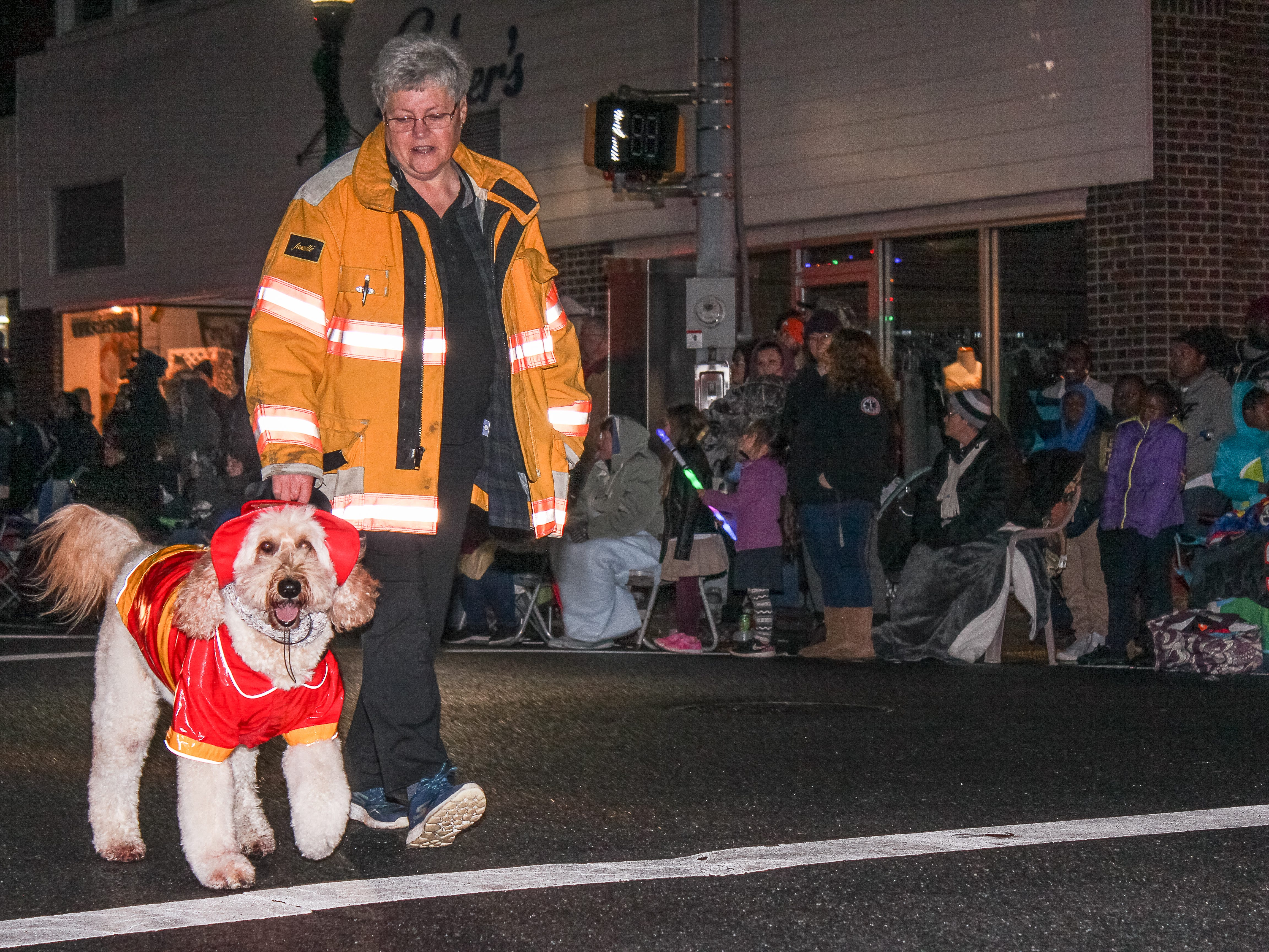 Several hundred people turned out to see the Pocomoke Christmas Parade on Monday, Nov. 26.