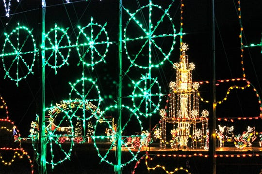 Branson has a number of Christmas light displays.