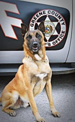 Dar was born Oct. 13, 2007 in the Czech Republic. He began his law enforcement training in January  2009 with the Greene County Sheriff's Office. He died of cancer.