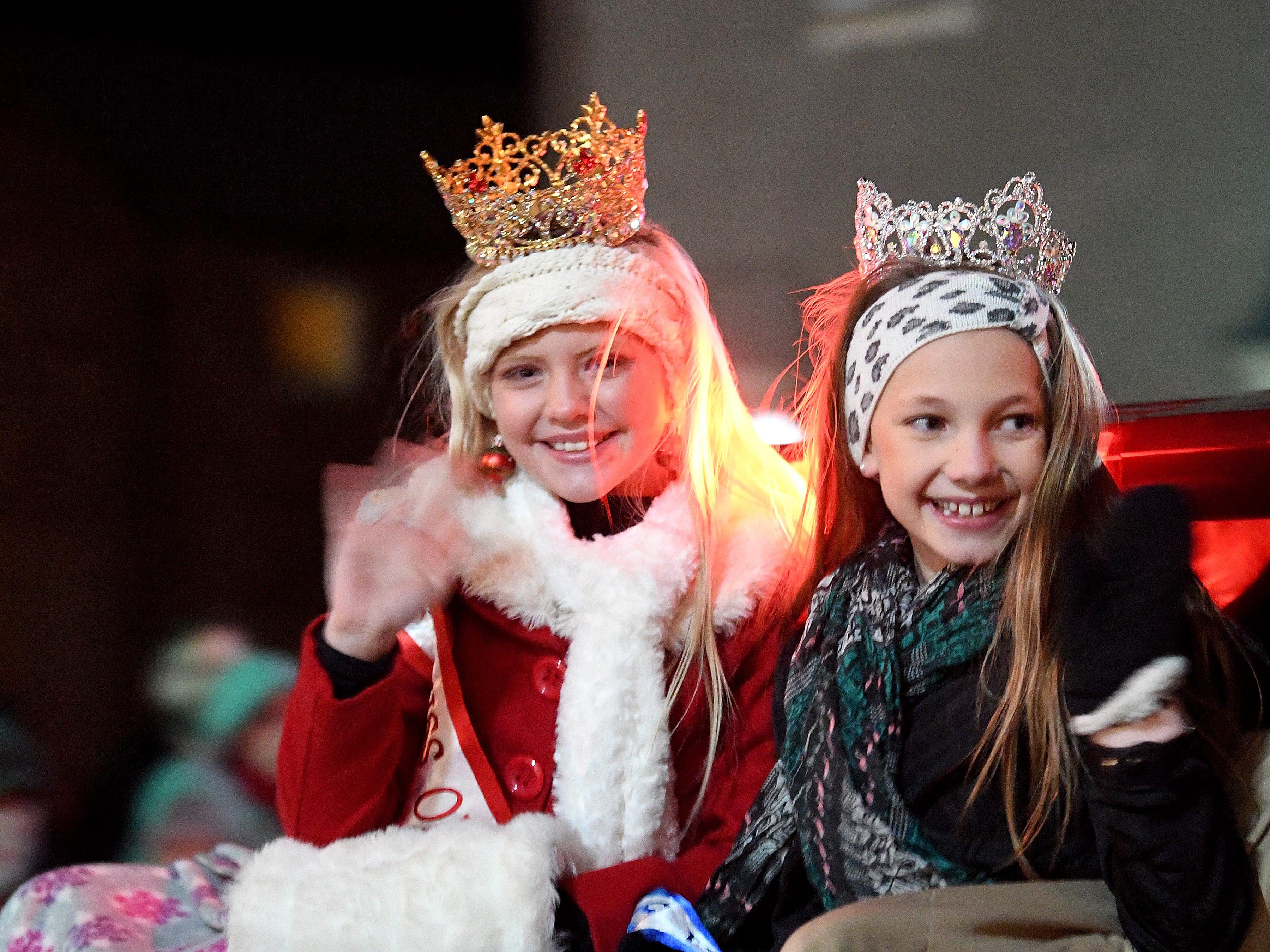The Staunton Christmas Parade makes its way through downtown on Monday, Nov. 26, 2018.