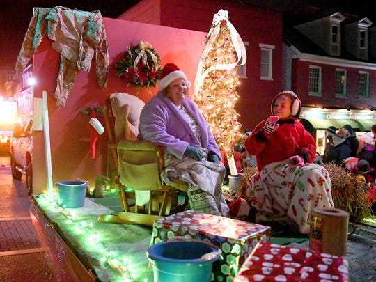 The Staunton Christmas Parade makes its way through downtown on Monday, Nov. 26, 2018.