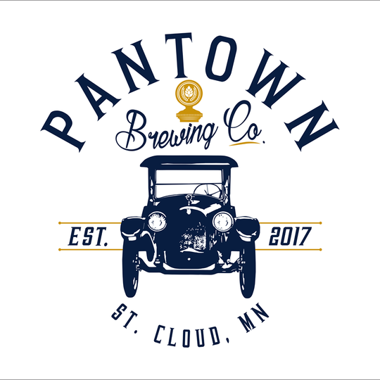 The logo for Pantown Brewing Company