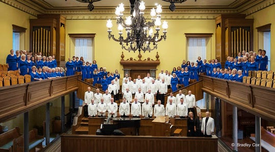 The Southern Utah Heritage Choir will perform at the St. George Tabernacle on Dec. 6, 2018.