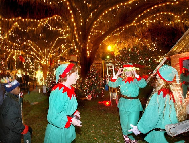 Don't be too surprised to see elves running about at Winter Festival on Saturday.