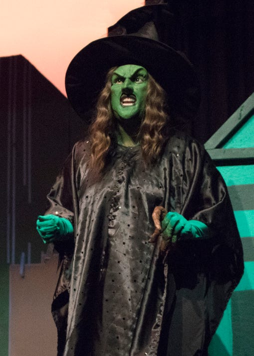 Wizard Of Oz Wicked Witch Lizeth George