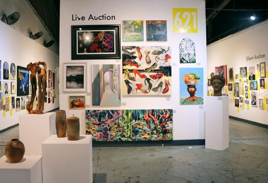 The annual 621 Auction is Friday night at 621 Gallery in Railroad Square Art Park.