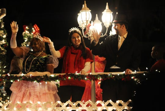More than 65 entries are featured in Saturday's Nighttime Holiday Parade in downtown Tallahassee.