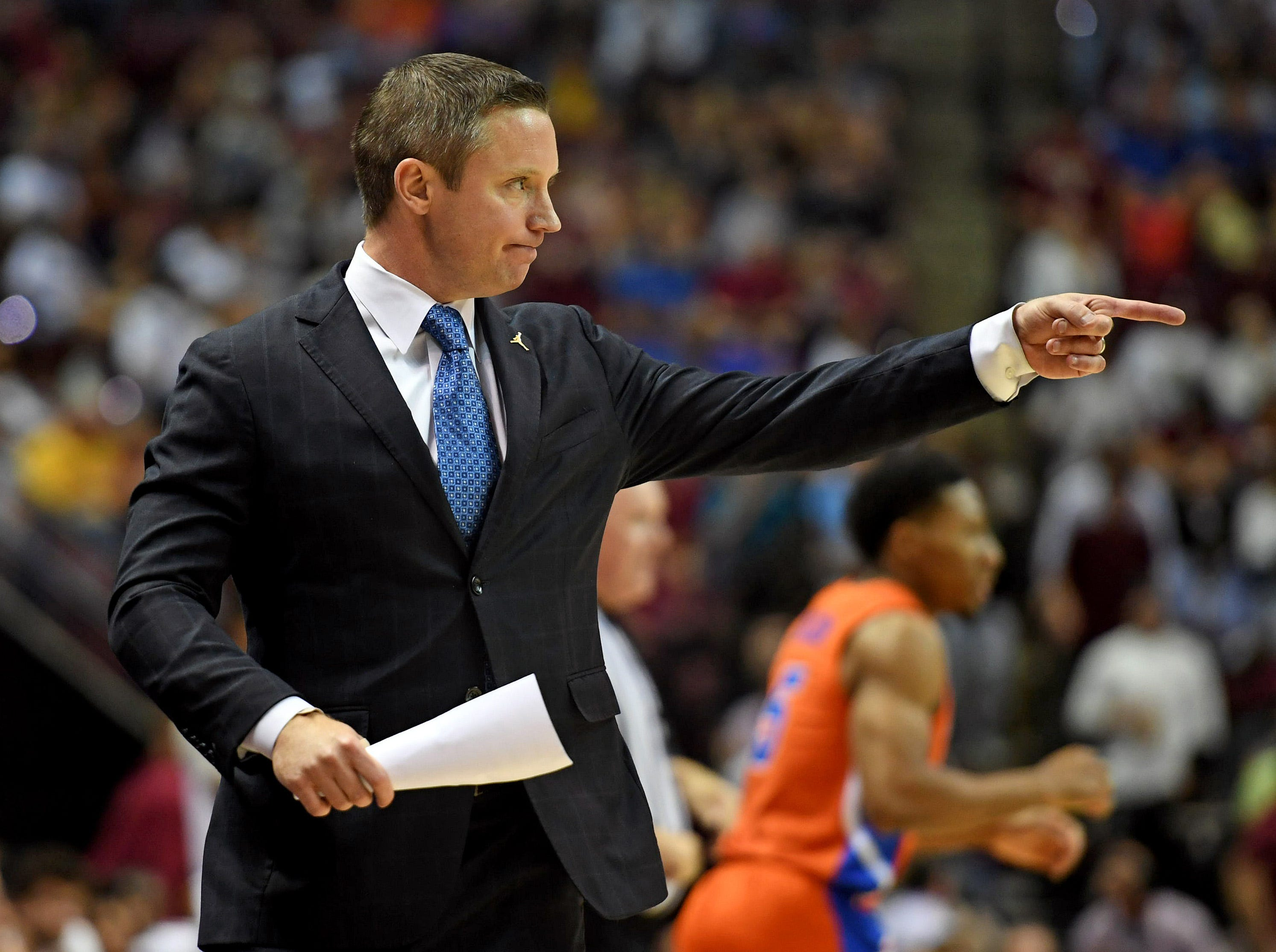 Nov 6, 2018; Tallahassee, FL, USA; Florida Gators head coach Mike White during the game against the Florida State Seminoles at Donald L. Tucker Center. Mandatory Credit: Melina Myers-USA TODAY Sports