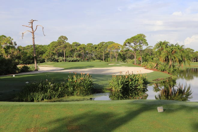 The Golden Marsh course at Harbour Ridge Yacht & Country Club in Palm City was recently redesigned.