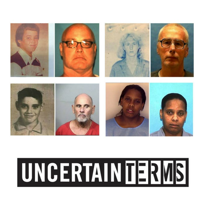Uncertain Terms Podcast | (Clockwise from top left) Brooks Bellay, James Morgan, Lanadieal Ashe and Dennis Creamer.