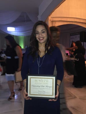 Carmen Ortiz, recipient of this year's Outstanding Risk Manager (Employer Category)