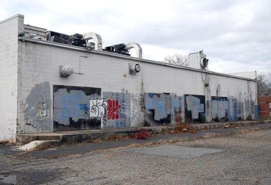 The City of Vineland is working on a demolition contract for a group of abandoned industrial buildings located on the 100 block of Highland Avenue, pictured here on Tuesday, November 27, 2018. The structures were once home to the Nutri-Mack factory.