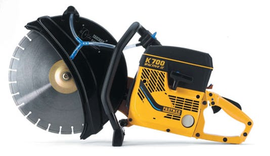 Partner K700 Concrete Saw For Crime Stoppers
