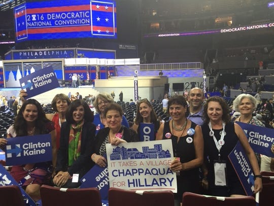Chappaqua Friends of Hillary at the 2016 Democratic National Convention in Philadelphia