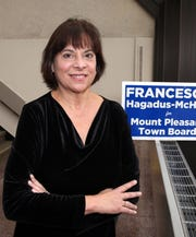 Francesca Hagadus-McHale, is the first Democrat elected to the Mt. Pleasant Town Board in 30 years. She's a local retired teacher, currently teaching part time Nov. 27, 2018.