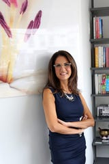 Julie Fischer, an integrative nutrition health coach and founder of Healthy on Hudson in Irvington.