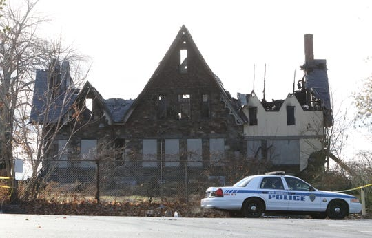 Wildcliff in New Rochelle on Tuesday, Nov. 27, 2018, the day after a fire ravaged the historic building.