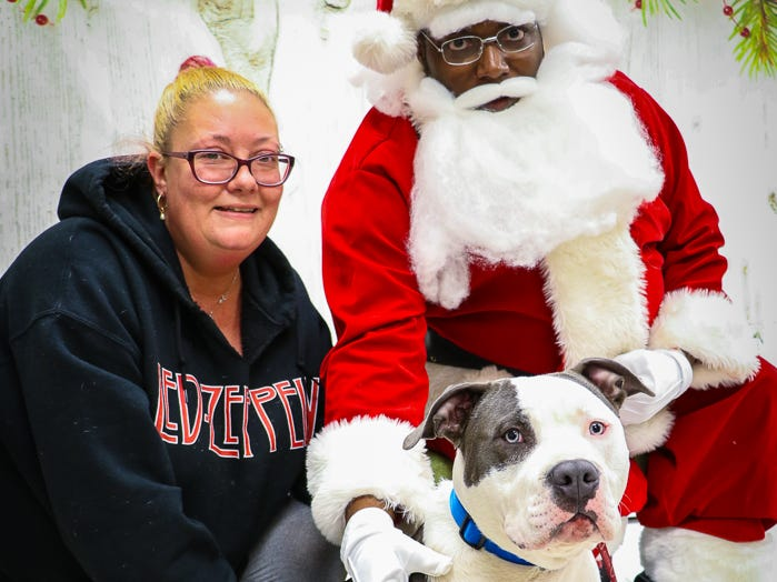The Brandywine Vally SPCA welcomed pets and supporters for photos with Santa and an open house Nov. 24.