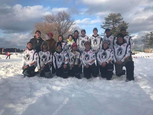 Wisconsin Rapids Ice Fishing Team 1
