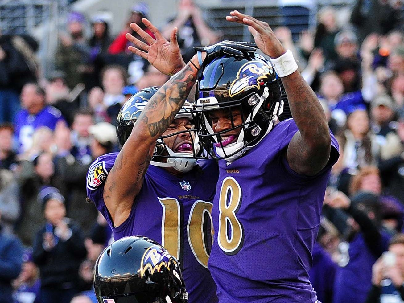 13. Ravens (14): Lamar Jackson has lifted them back into playoff picture, albeit against two of league's worst defenses. Now, is he ready for next level?