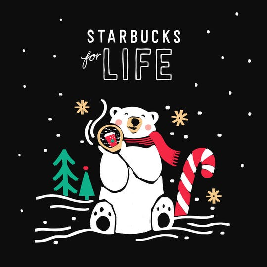 Thirty years of free Starbucks is up for grabs in the Starbucks for Life contest.