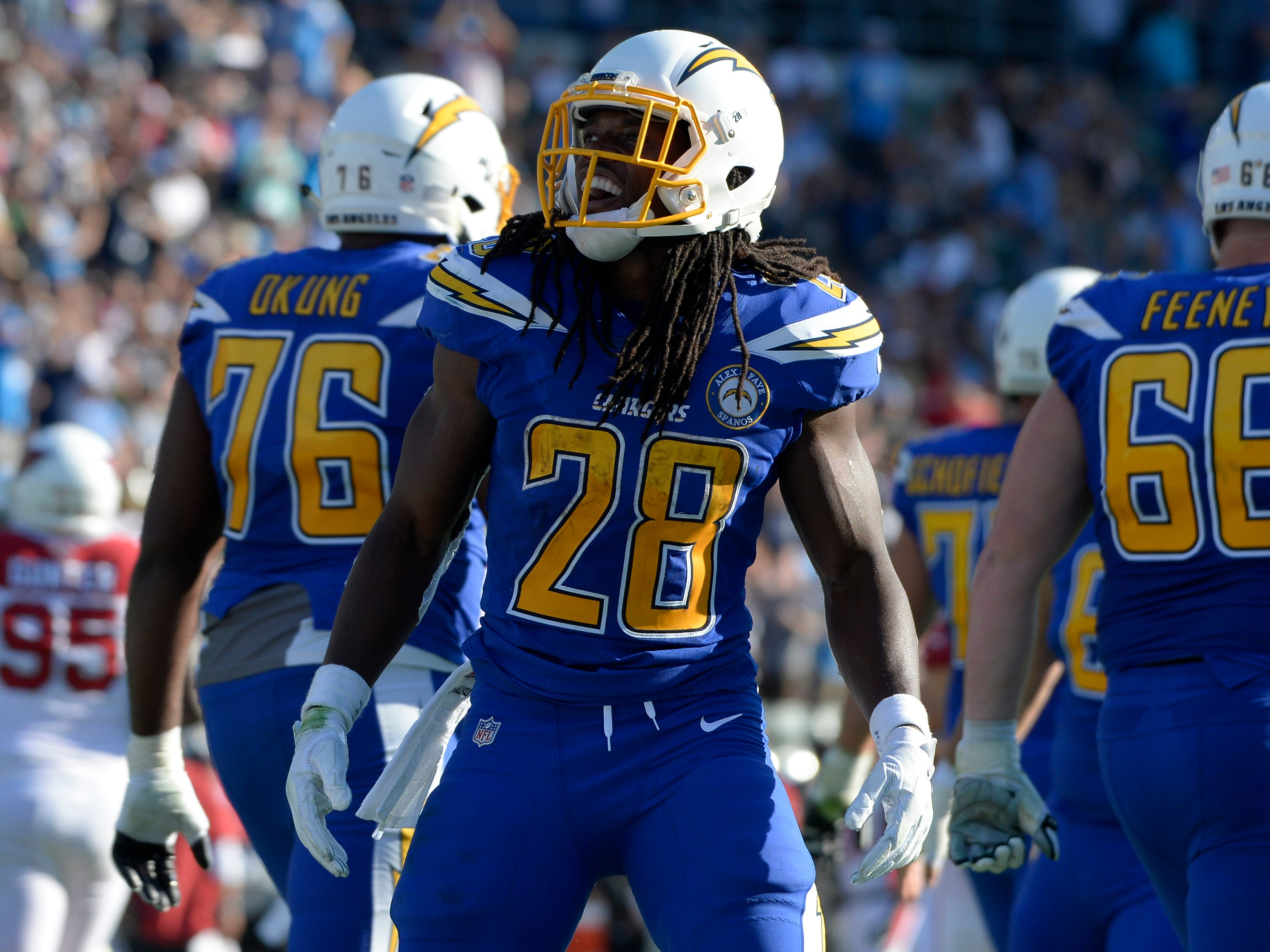 5. Chargers (6): Not sure why Melvin Gordon was still playing with Bolts up by 18, but it's kind of move franchise averse to prosperity too often makes.