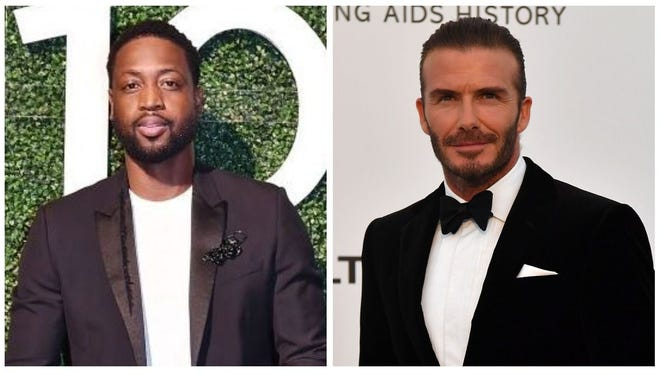 Dwyane Wade and David Beckham were both shamed on the same day for lip kissing their daughters.