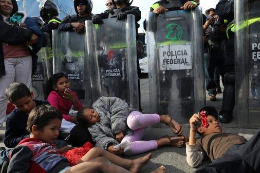 Ap Central America Migrant Caravan I Mex