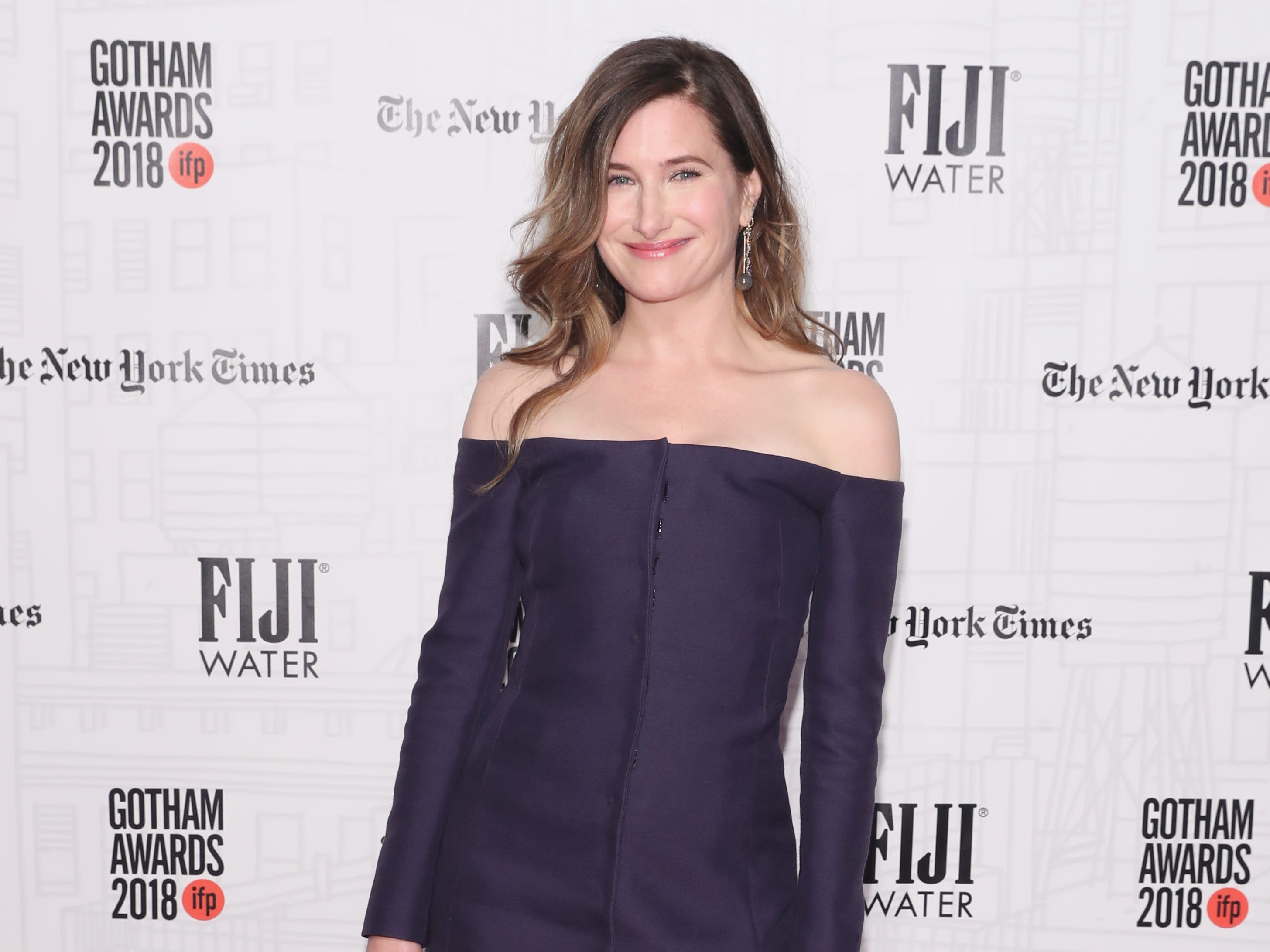 NEW YORK, NY - NOVEMBER 26:  Kathryn Hahn attends the 2018 IFP Gotham Awards with FIJI Water at Cipriani, Wall Street on November 26, 2018 in New York City.  (Photo by Cindy Ord/Getty Images for FIJI Water) ORG XMIT: 775261572 ORIG FILE ID: 1065551730