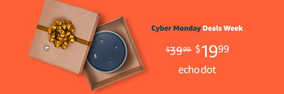 Cyber Monday is now Deals Week with Amazon