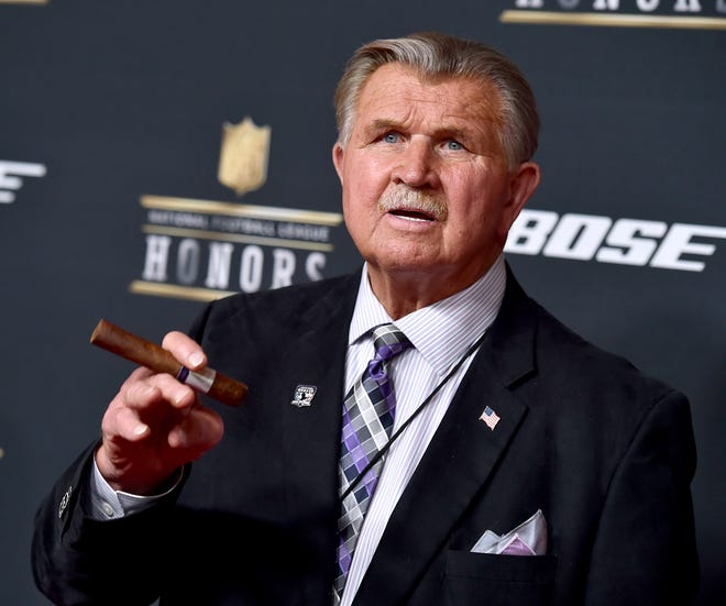 Mike Ditka is a member of both the Pro Football Hall of Fame and College Football Hall of Fame.