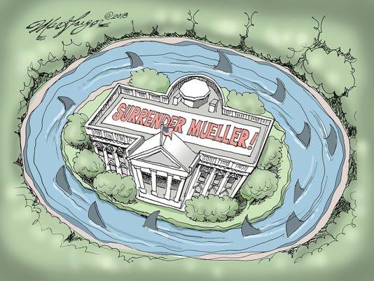111118ftmyers Trump Robert Mueller