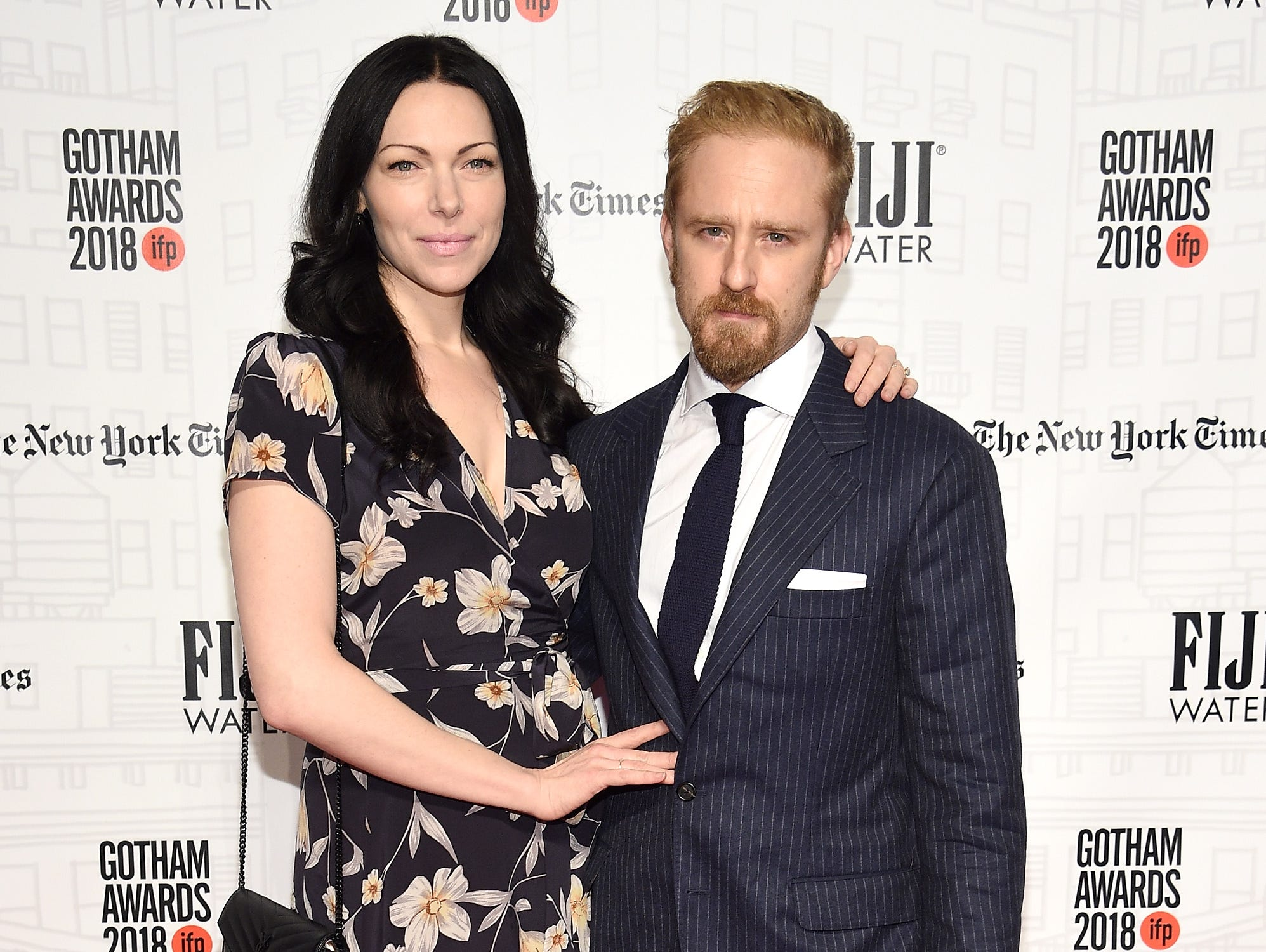 NEW YORK, NY - NOVEMBER 26:  Laura Prepon and Ben Foster attend IFP's 27th Annual Gotham Independent Film Awards at Cipriani, Wall Street on November 26, 2018 in New York City.  (Photo by Dimitrios Kambouris/Getty Images for IFP) ORG XMIT: 775261541 ORIG FILE ID: 1065552128