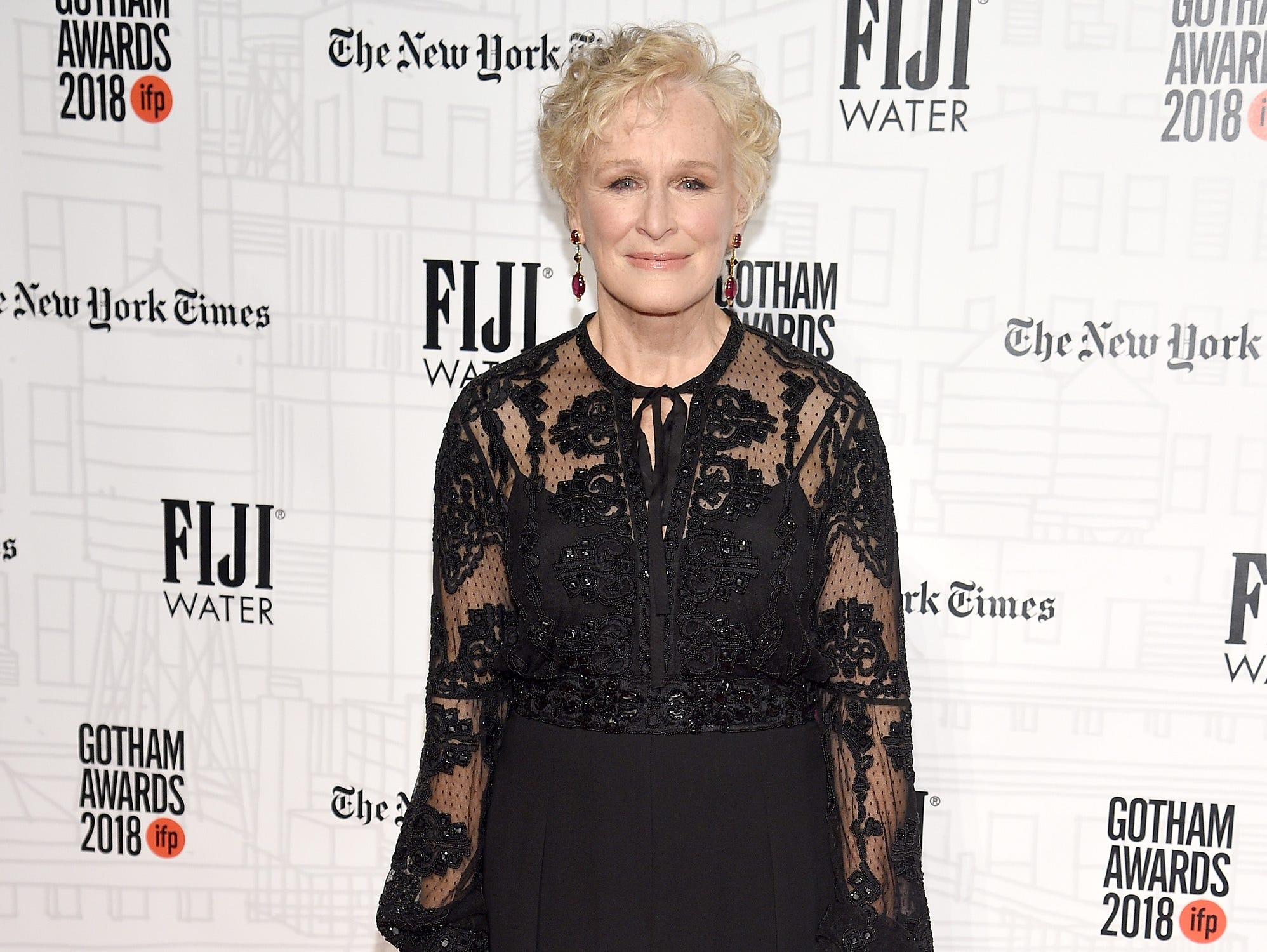 NEW YORK, NY - NOVEMBER 26: Glenn Close attends IFP's 27th Annual Gotham Independent Film Awards at Cipriani, Wall Street on November 26, 2018 in New York City.  (Photo by Dimitrios Kambouris/Getty Images for IFP) ORG XMIT: 775261541 ORIG FILE ID: 1065562768