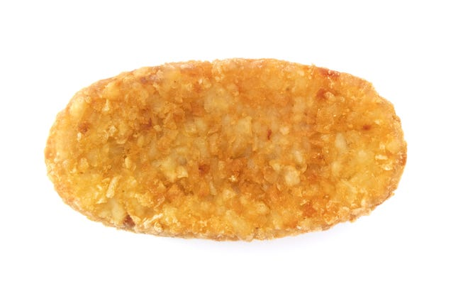 This is a hash brown.