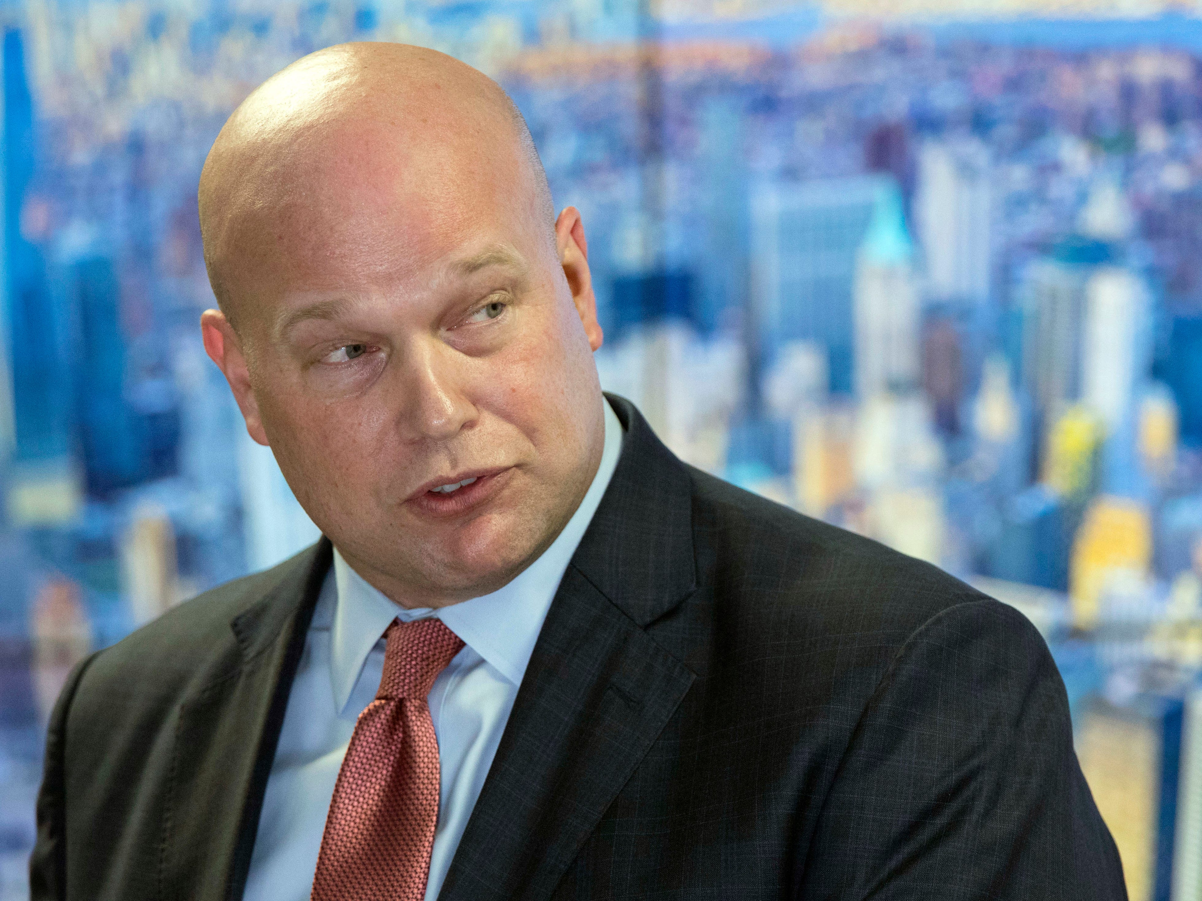 Matthew Whitaker is the Acting Attorney General, which former cyclist Floyd Landis is challenging as part of his settlement with the Department of Justice.