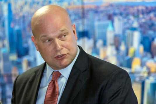 Ap Trump Whitaker A Usa Ny
