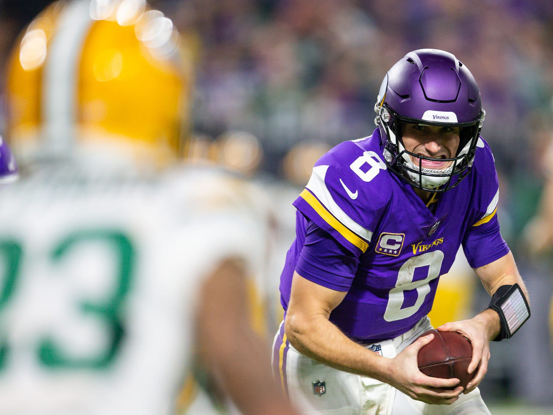 "9. Vikings (9): My favorite play of weekend was G Mike Remmers taking phrase ""human turnstile"" to an entirely unfamiliar level. Uh, sorry, Kirk??!!"