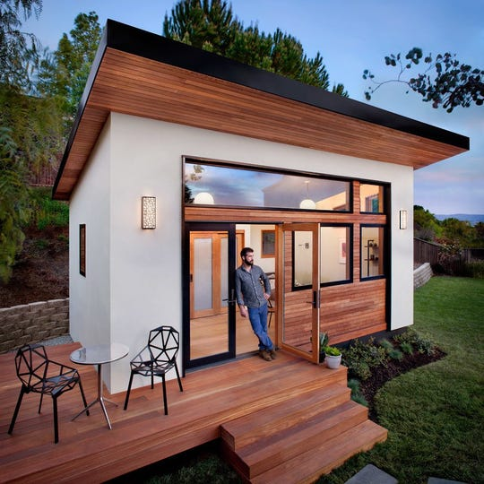 Just because they're small doesn't mean tiny houses can't be stylish.