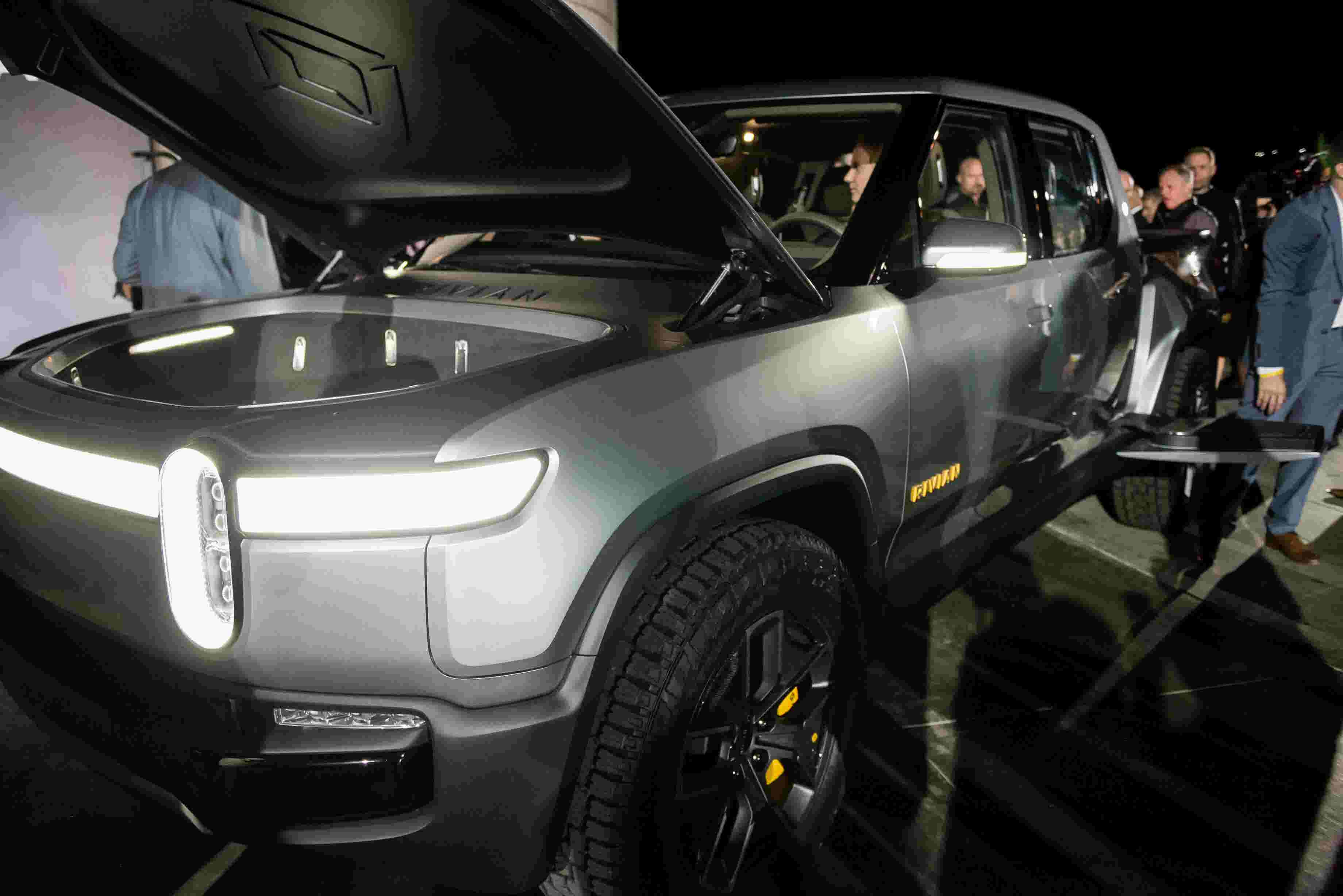 Amazon to lead $700M investment in Rivian electric vehicle startup