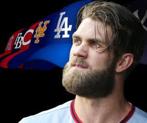 Los Angeles could be a prime landing spot for Bryce Harper.