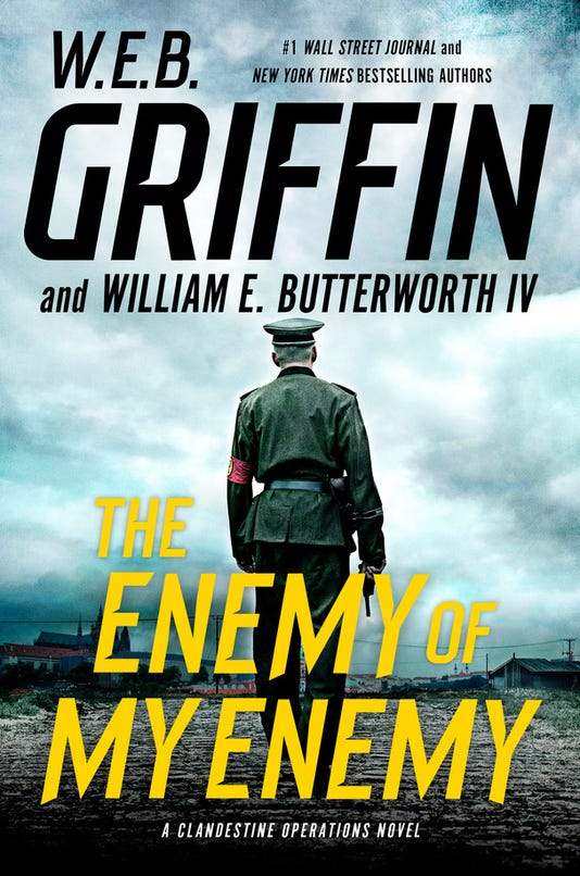 5 new books you won't want to miss this week: Thrillers from W.E.B. Griffin, Robin Cook