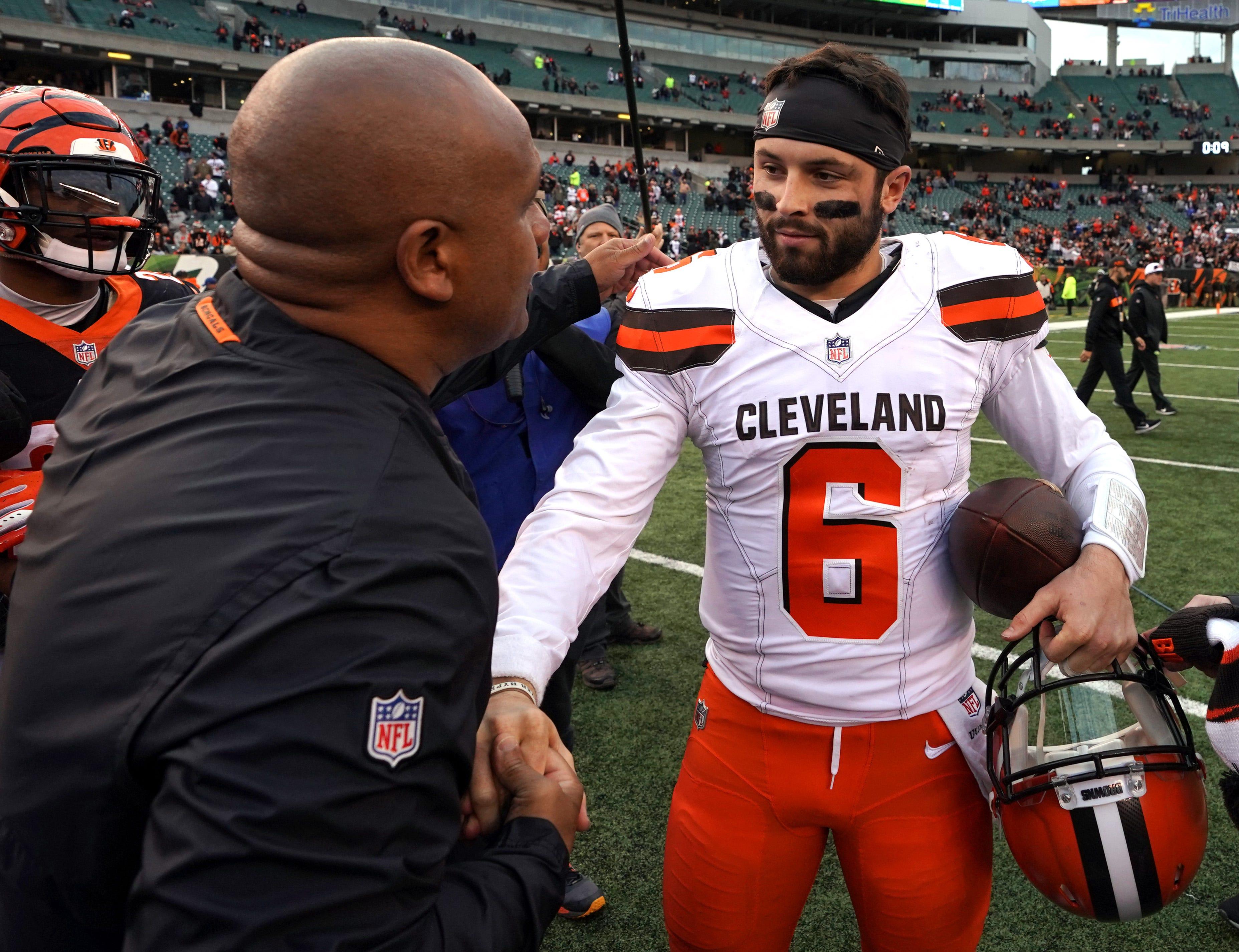 Nfl Cleveland Browns At Cincinnati Bengals