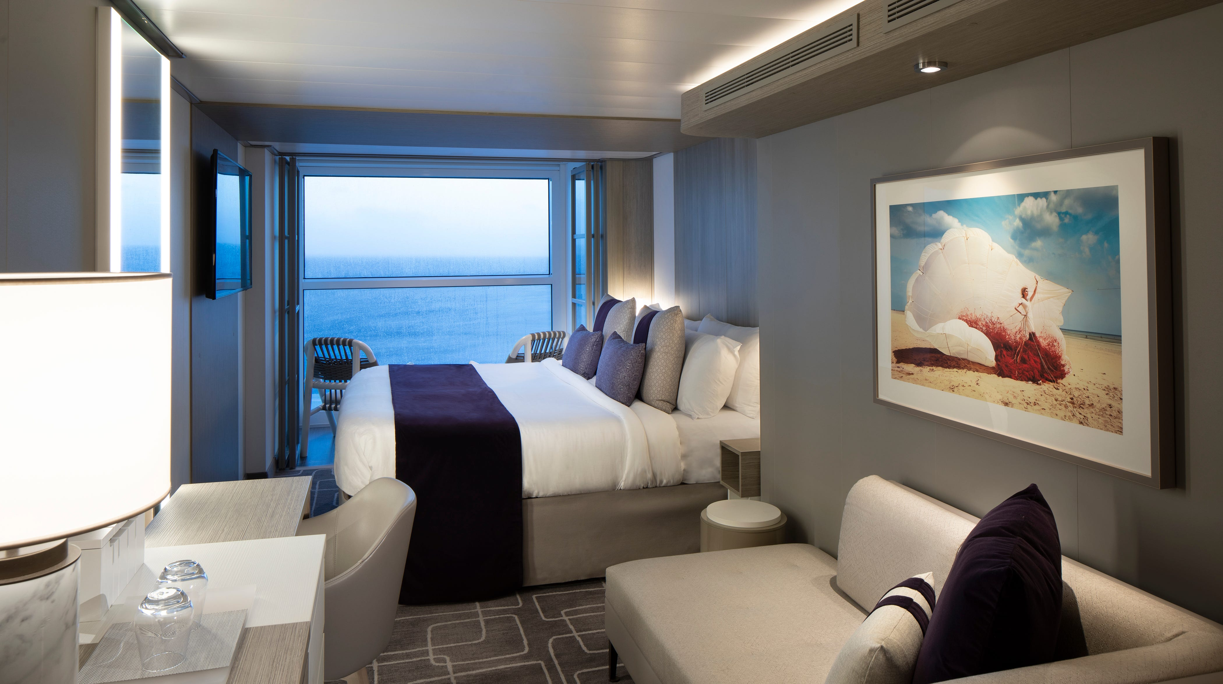 Celebrity Edge New Cruise Ship S Cabins Have Walls Of Glass
