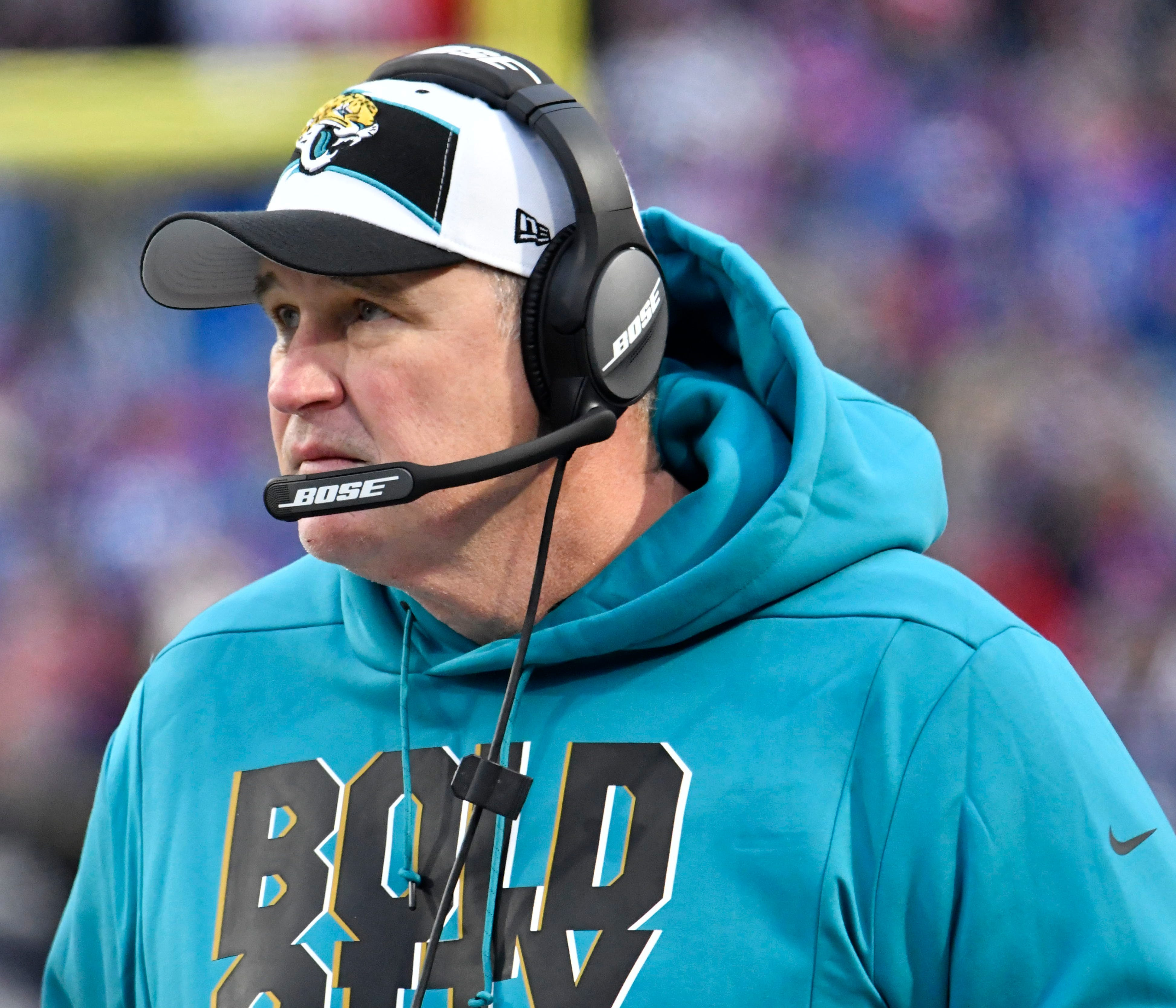 28. Jaguars (25): They're bad. They're colorful. They could turn around fast in 2019. But will they play for Doug Marrone now that he's cleaning house?